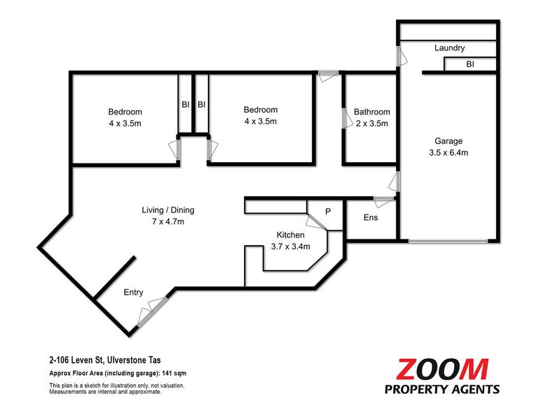 2/106 Leven Street, Ulverstone, Tas 7315 - floorplan