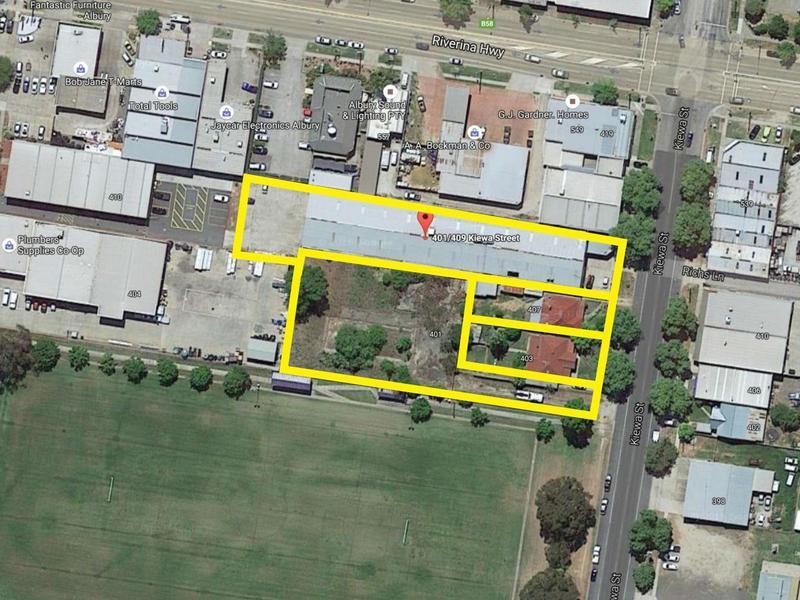 401-409 Kiewa Street, Albury, NSW 2640