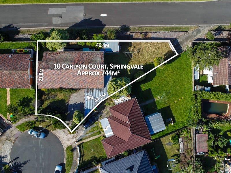 10  CARLYON CRT, Springvale, Vic 3171