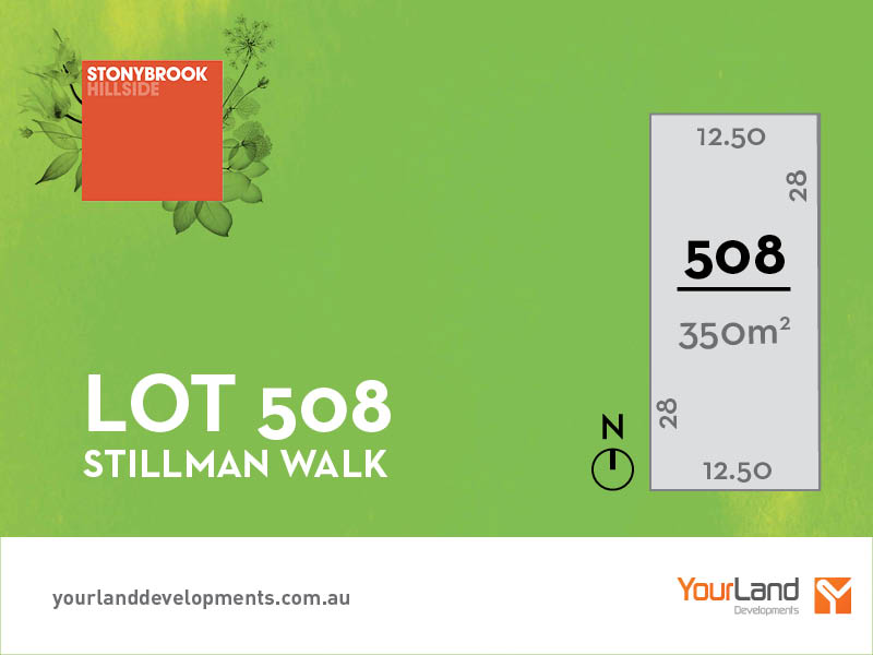 Lot 508, Stillman Walk, Hillside, Vic 3037