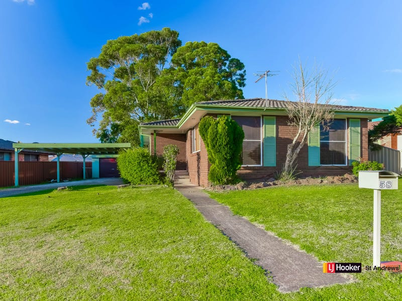 58 Stromeferry Crescent, St Andrews, NSW 2566