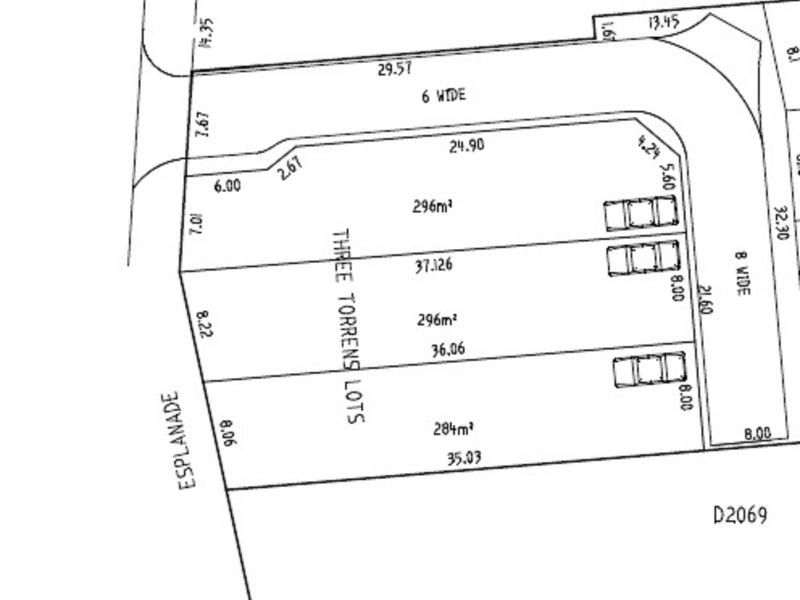 Lot 7, 8 & 9 Esplanade St, Port Noarlunga