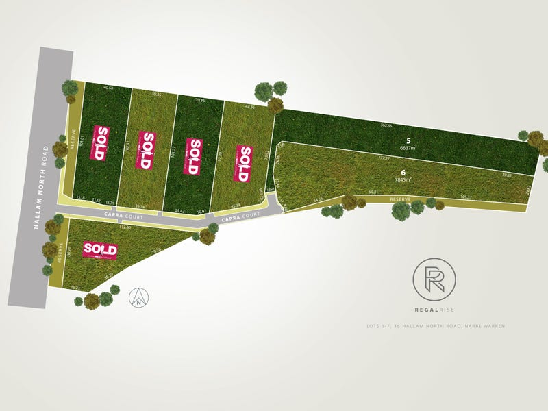 Lot 1-7, 36 Hallam North Road, Narre Warren North, Vic 3804