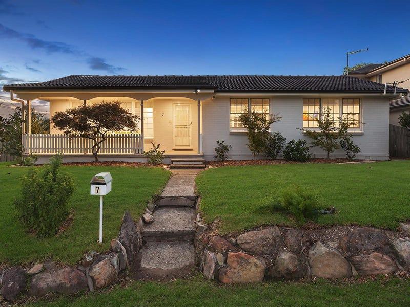7 Carcoola Street, Castle Hill, NSW 2154
