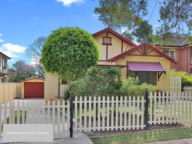 8 Riverview Street, Concord, NSW 2137