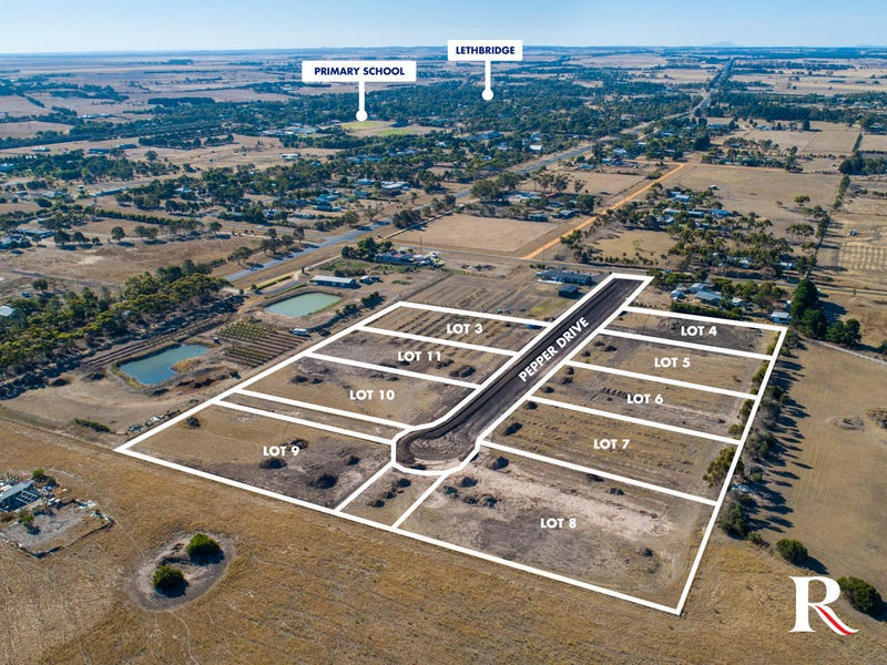 Lot 1-9, Pepper Drive, Lethbridge, Vic 3332