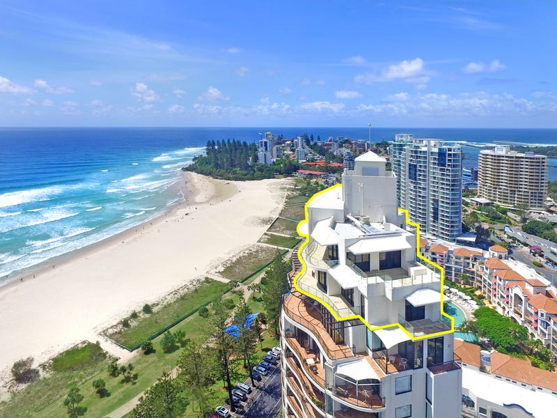 The Penthouse 'Calypso Towers' 88 Marine Parade, Coolangatta, Qld 4225