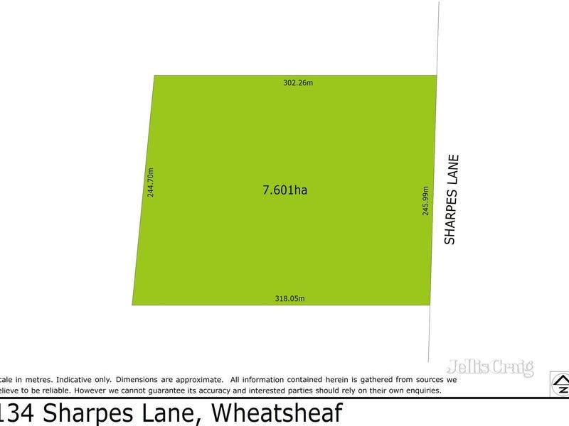 134 Sharpes Lane, Wheatsheaf, Vic 3461
