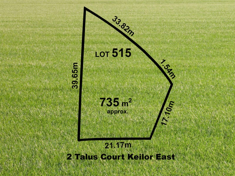Lot 515, 2 (Lot 515) Talus Court, Keilor East, Vic 3033