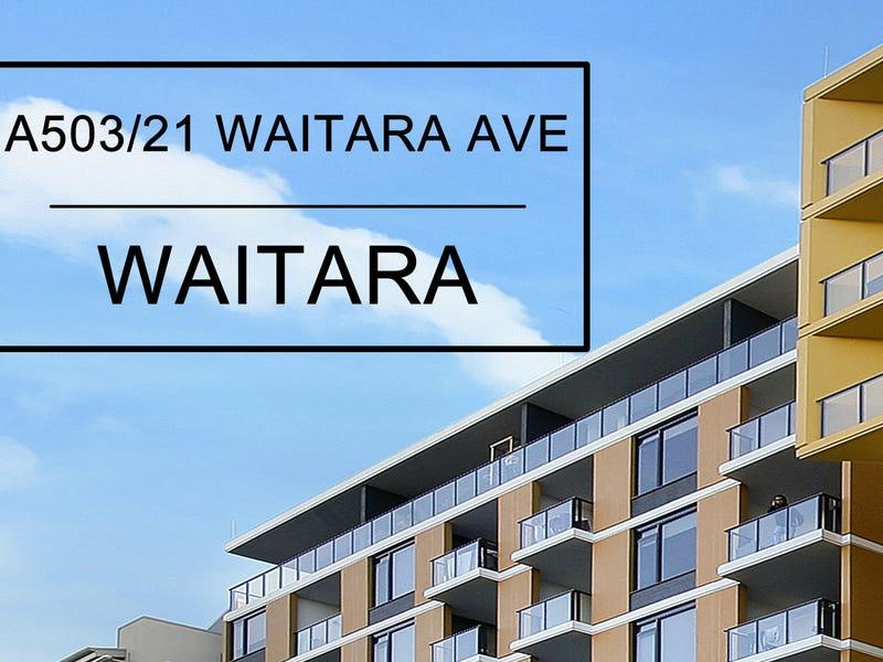 A503/21-37 Waitara Avenue, Waitara, NSW 2077