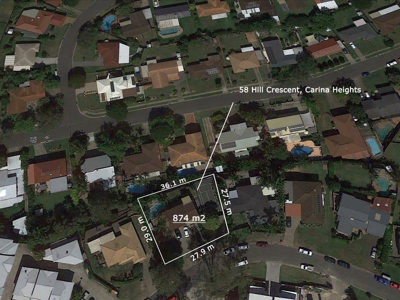 58 Hill Crescent, Carina Heights, Qld 4152