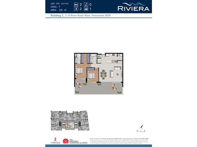 610/8 River Road, Parramatta, NSW 2150 - floorplan