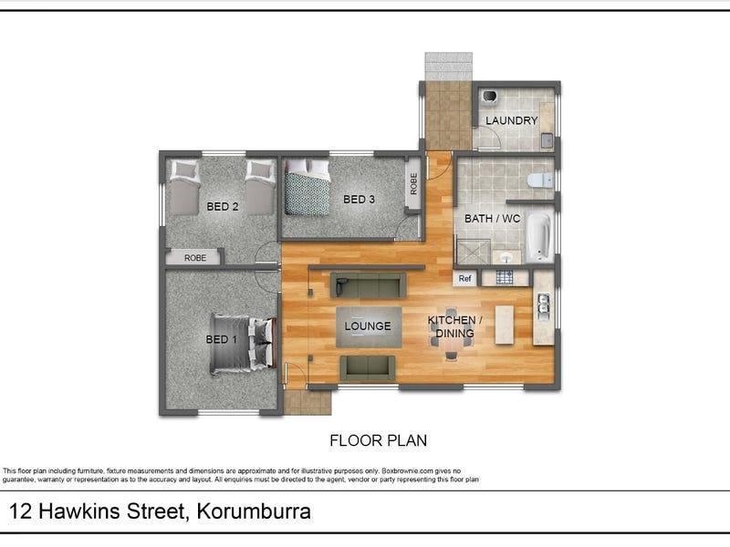 12 Hawkins Street, Korumburra, Vic 3950