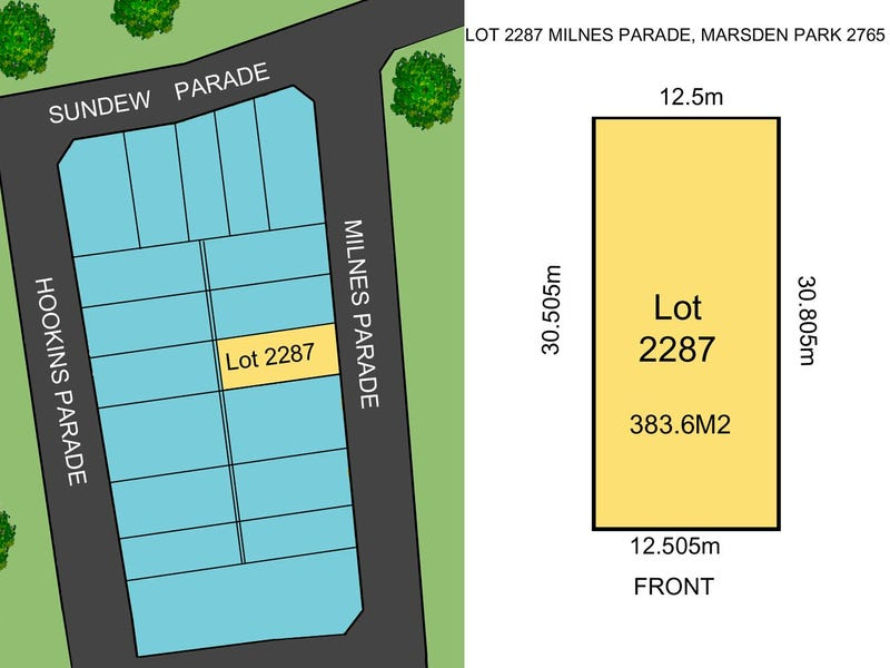 Lot 2287 Lot 2287 Milnes Parade, Marsden Park, NSW 2765