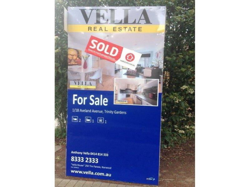 Villa 1/1B Aveland Avenue, Trinity Gardens, SA 5068