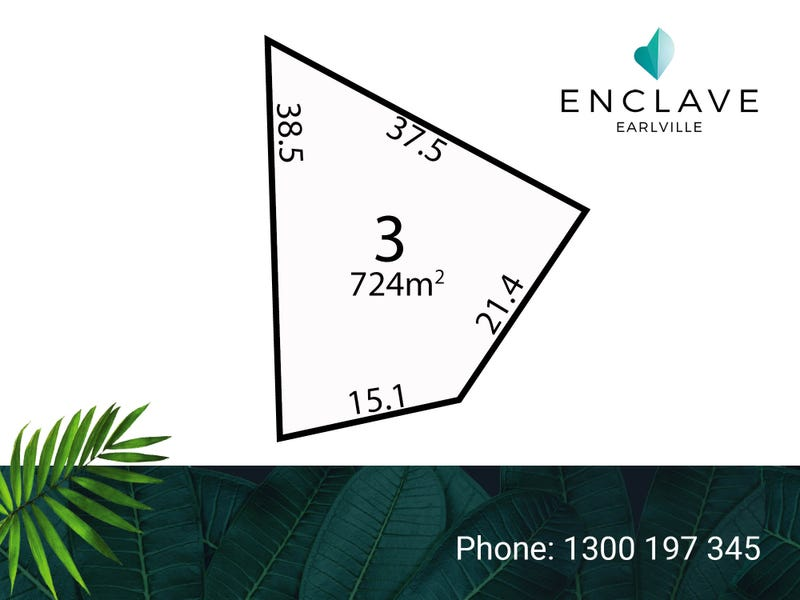 Lot 3, Jacamunda Circuit, Cairns City, Qld 4870