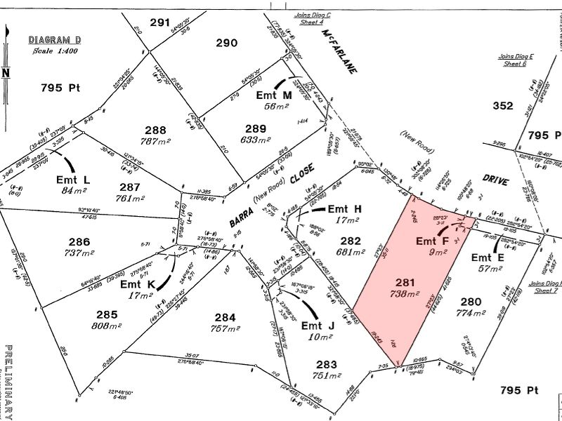 Lot 281, No. 61 Mcfarlane Drive, Kanimbla, Qld 4870