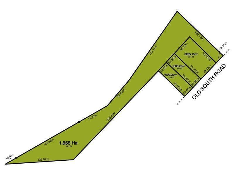 Lot 51, Lot 57, Lot 4, Lot 56 Old South Road, Old Reynella, SA 5161
