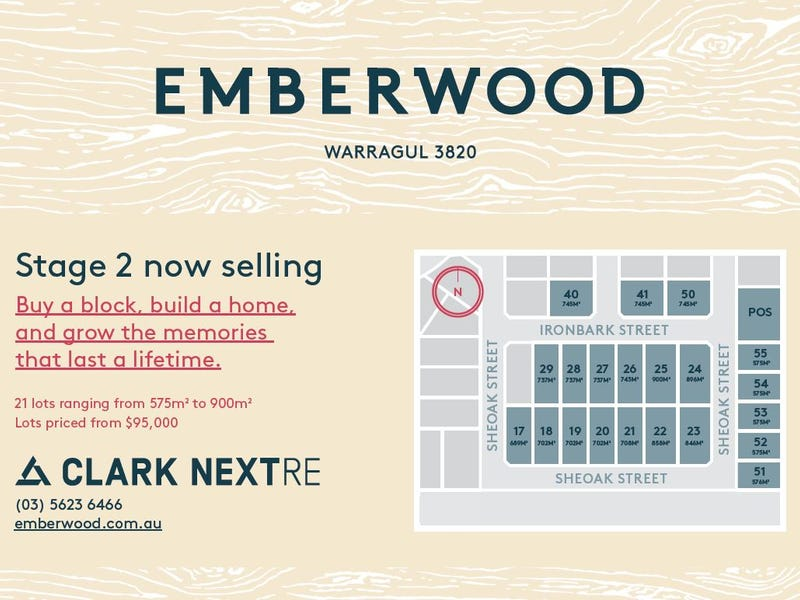 Lot 19, Emberwood Estate, Warragul, Vic 3820