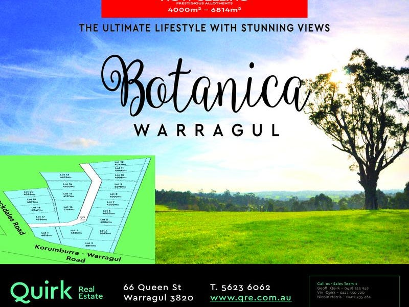 Lot 9, Botanica Drive, Warragul, Vic 3820