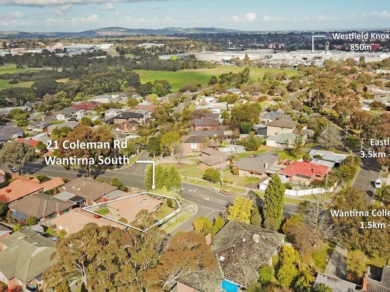 21 Coleman Road, Wantirna South, Vic 3152