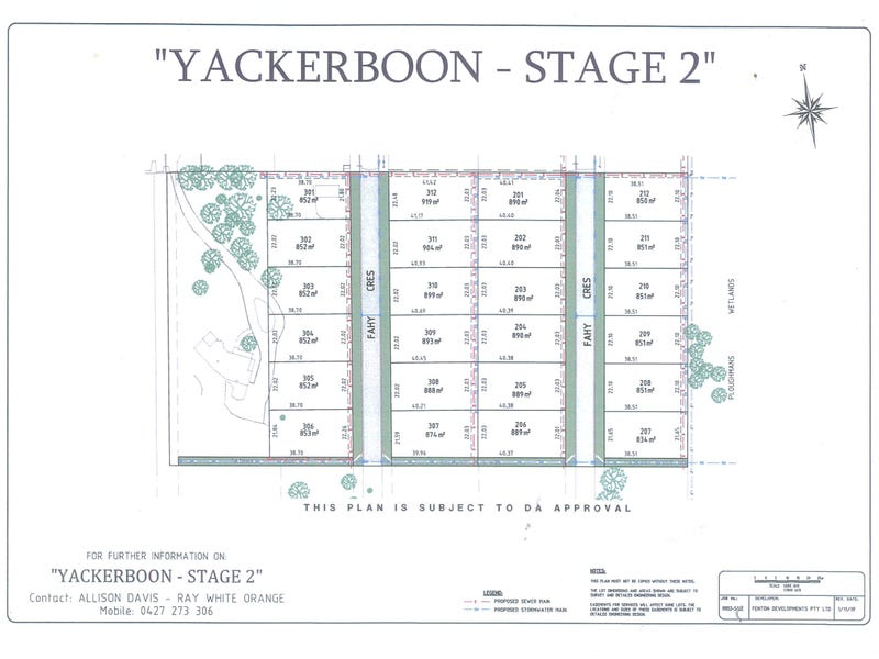 Lot 303 Yackerboon Estate - Stage 2, Orange, NSW 2800
