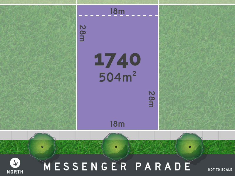 Lot 1740, Messenger Parade, Lucas, Vic 3350