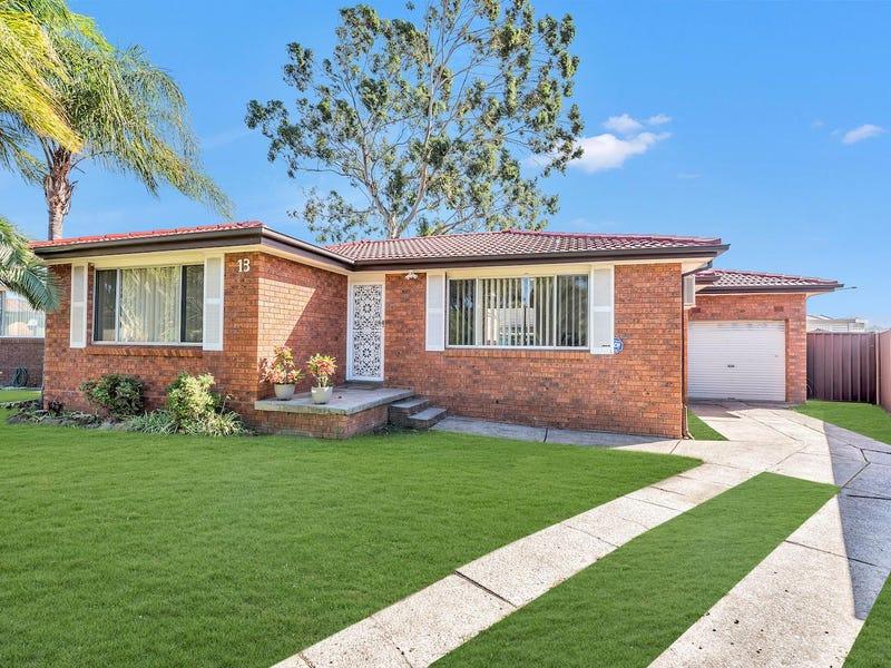 13 Comberford Close, Prairiewood, NSW 2176