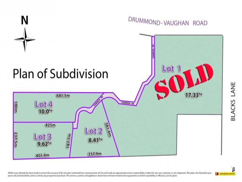 501 Vaughan Springs Road, Drummond, Vic 3461