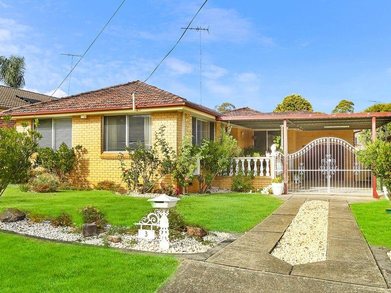 3 Parer Avenue, Condell Park, NSW 2200