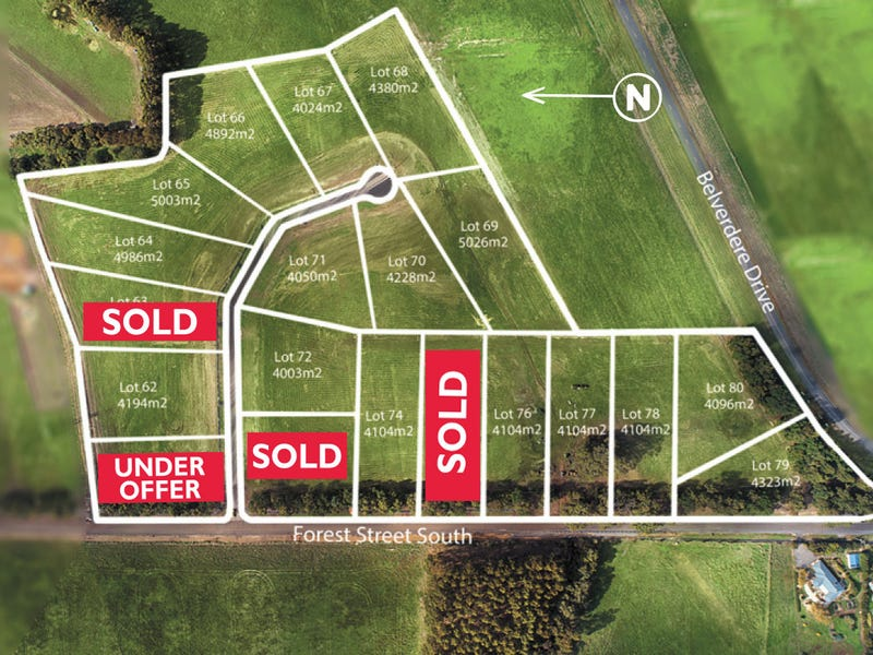 Forest Street South & Ruby Court, Elliminyt, Vic 3250