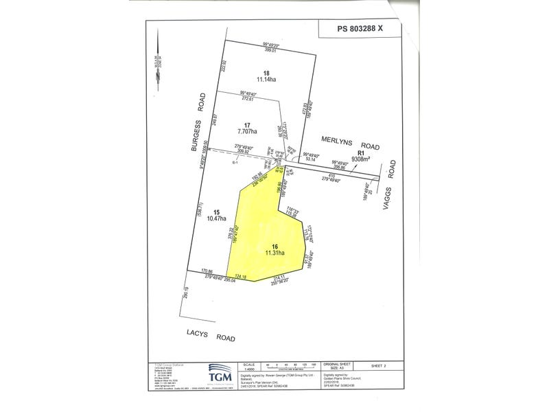 Lot 16 Merlyns Road (off Vaggs Road), Ross Creek, Vic 3351