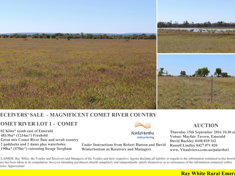 Comet River Lot 1 Klimore Road, Comet, Qld 4702