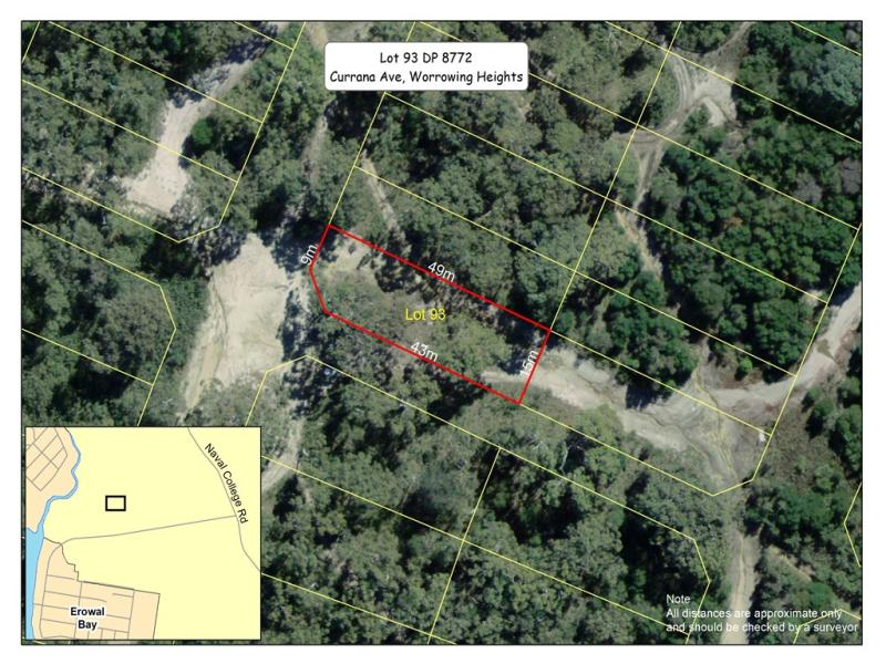 Lot 93 DP 8772, Currana Avenue, Worrowing Heights, NSW 2540