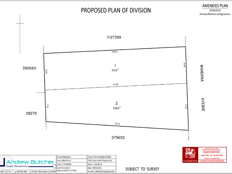Lot 2, 71 Wandana Avenue, Gilles Plains, SA 5086