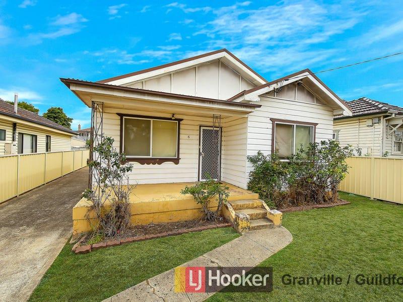 6 Fourth Street, Granville, NSW 2142