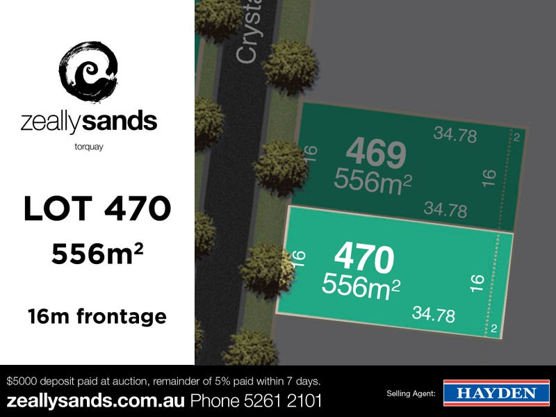 Lot 470 Zeally Sands  Estate, Torquay, Vic 3228