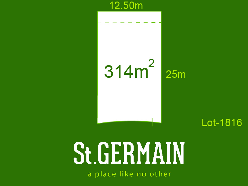 Lot 1816, St Germain, Clyde North, Vic 3978