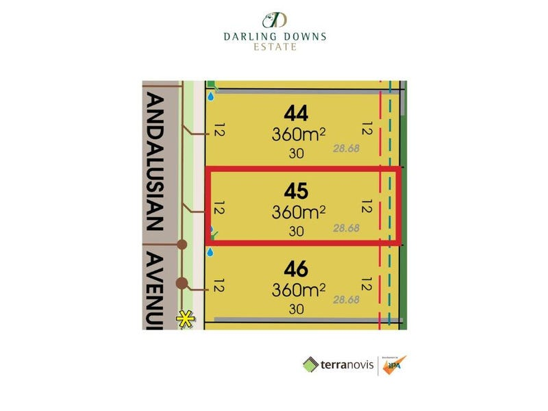 Lot 45 Andalusian Avenue, Darling Downs, Darling Downs