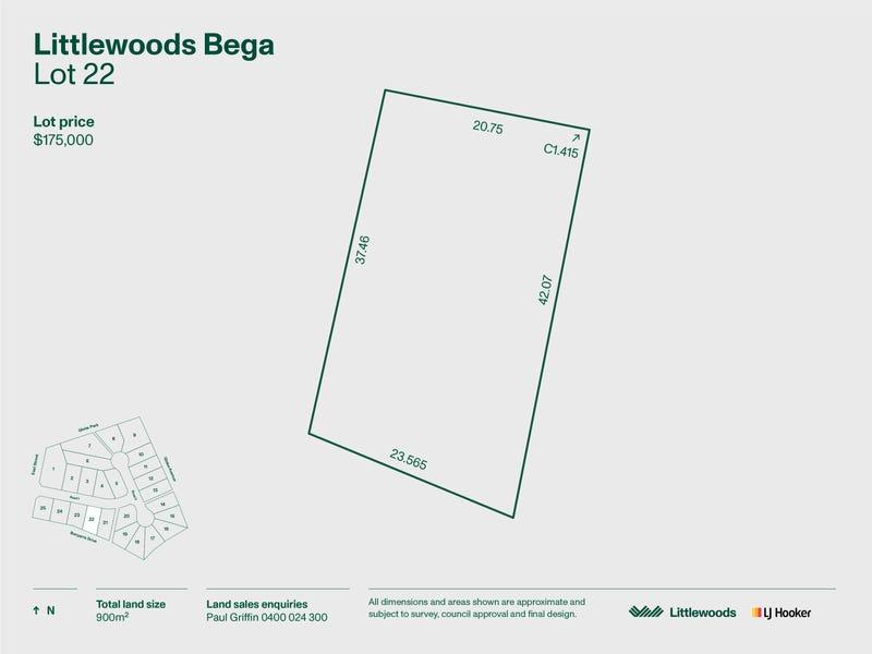Lot 22 Littlewoods Estate, Bega, NSW 2550