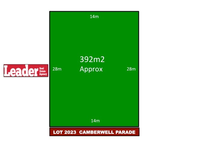 Lot 2023, Camberwell Parade, Mickleham
