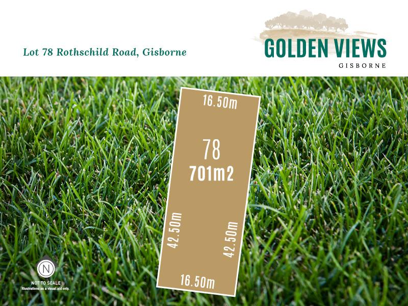 Lot 78, Rothschild Road (Golden Views), Gisborne, Vic 3437