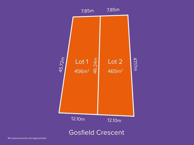 Lot 1 & 2, 3 Gosfield Cres, Hampstead Gardens, SA 5086