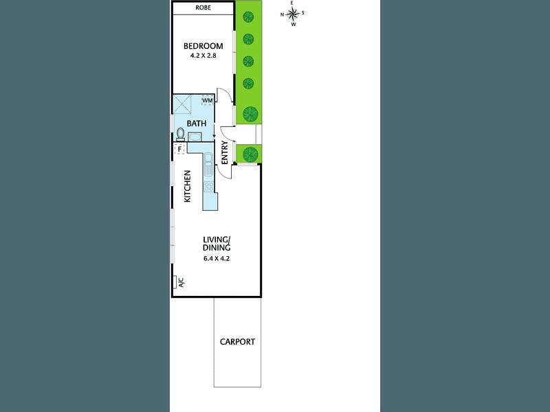 9/100 St Elmo Road, Ivanhoe, Vic 3079 - floorplan