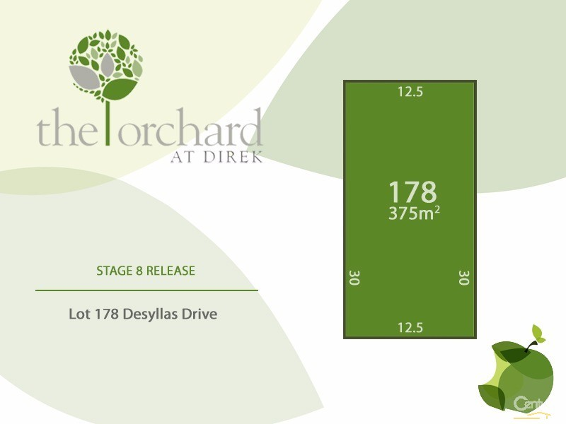 Lot 178 Desyllas Drive, Direk, SA 5110