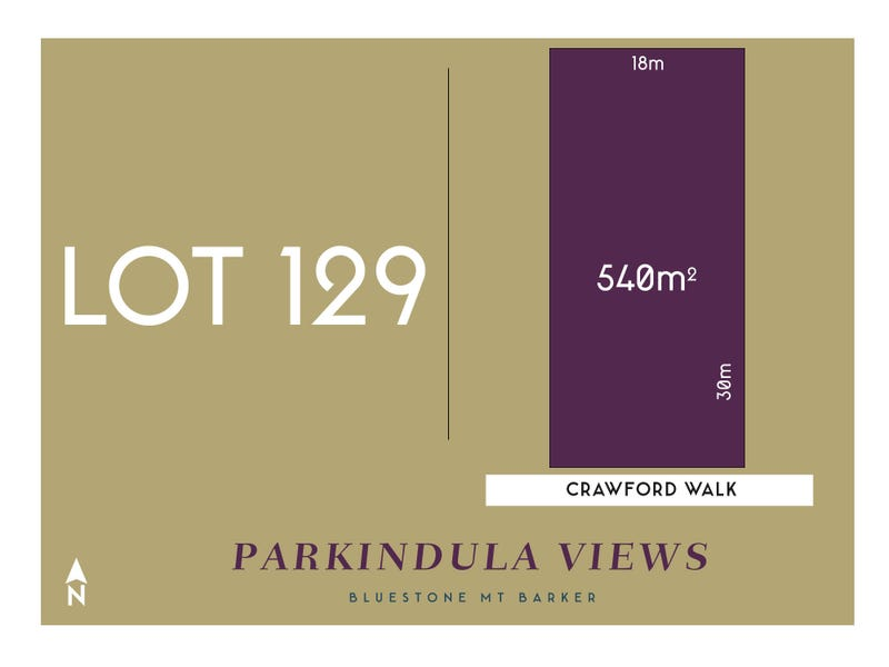 Lot 129 Crawford Walk, Mount Barker, SA 5251