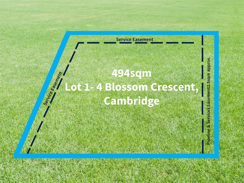 Lot 1 - 4 Blossom Crescent, Cambridge, Tas 7170
