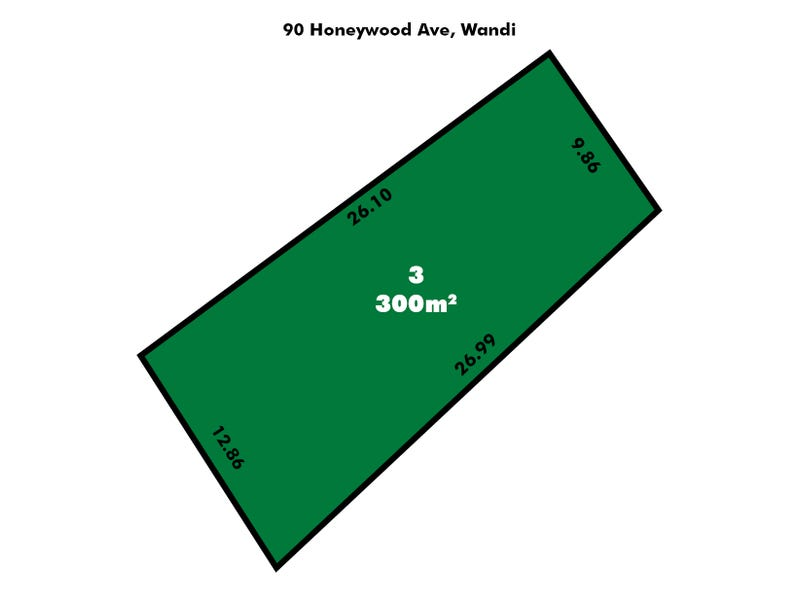 Lot 3, 90 Honeywood Ave, Wandi, WA 6167