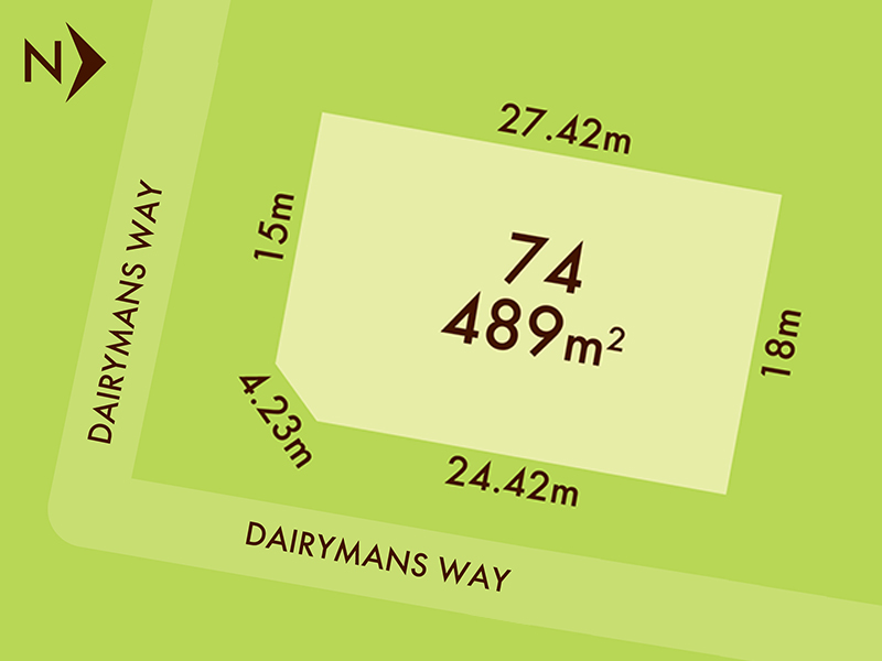 Lot 74, 42 Dairymans Way, Bonshaw, Vic 3352