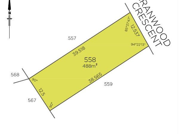 Lot 558 Cranwood Crescent, Viveash, WA 6056